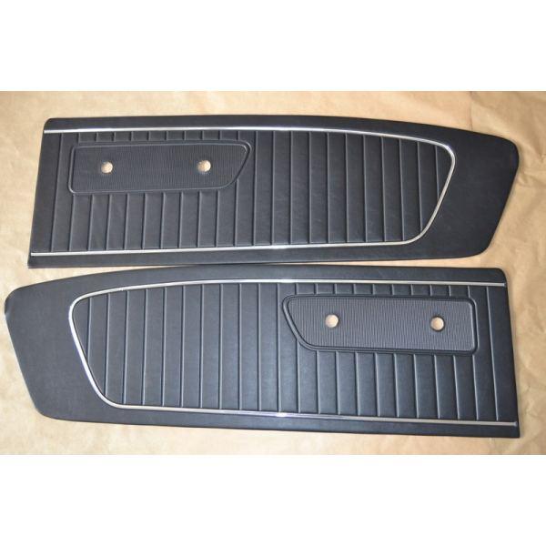 Paire d interieur de porte noir mustang 65 antares design for Porte interieur noir