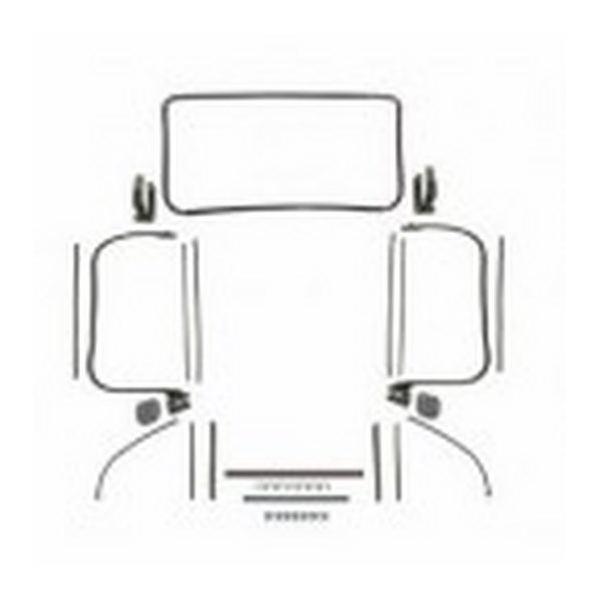 kit joints de carrosserie mustang 65